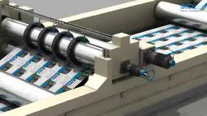 编码器用于纵切机定位