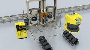 轮胎硫化机的安全防护