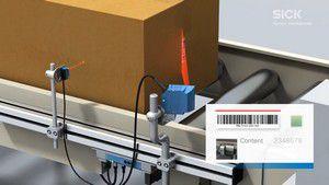 IDPro:利用条码扫描器和总线模块贴运输标签