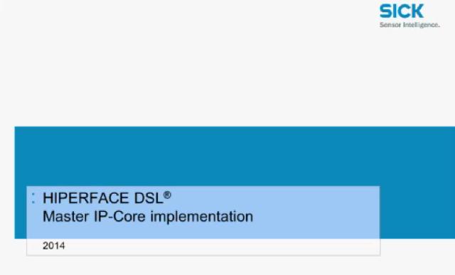 Hiperface DSL 开发帮助视频